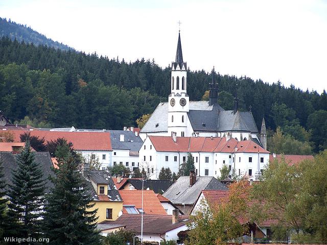 Vyssí Brodban álló cisztercita kolostor