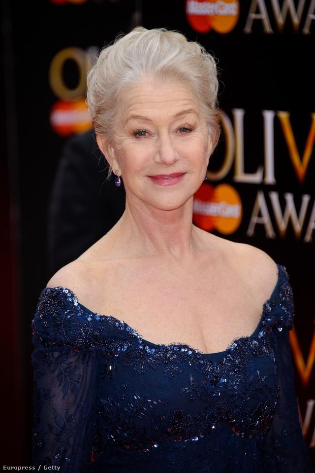 Helen Mirren Laurence Olivier-díjat kapott