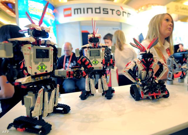 A lego robotjai is programozhatóak