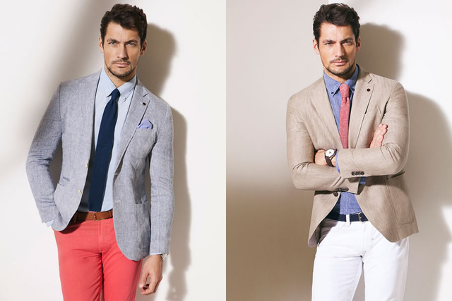 David Gandy a Massimo Dutti áprilisi lookbookjában