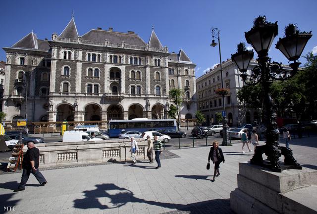Az Állami Balettintézet egykori, ma üresen álló épülete az Andrássy úton