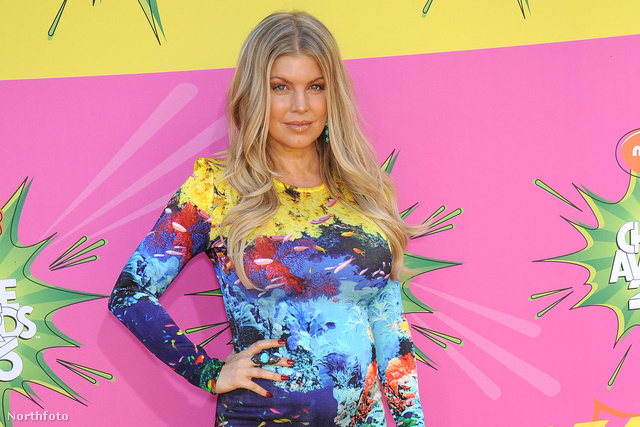 Fergie a Nickelodeon Kid's Choice Awards nevű díjkiosztóján márciusban