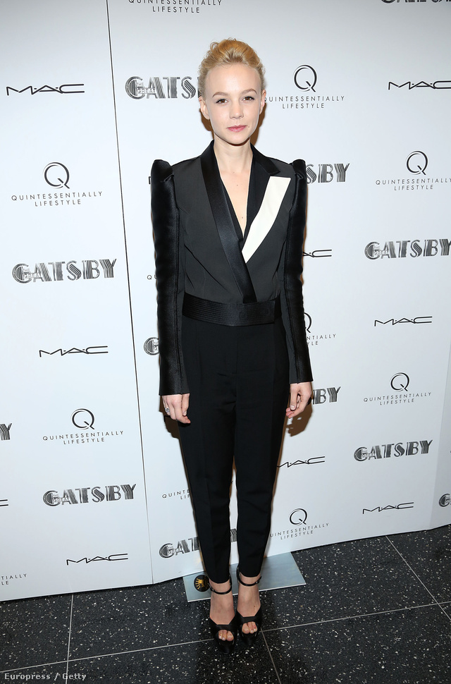 A Drive-ból is ismert Carey Mulligan úgy nézett ki, mint egy androgün modell