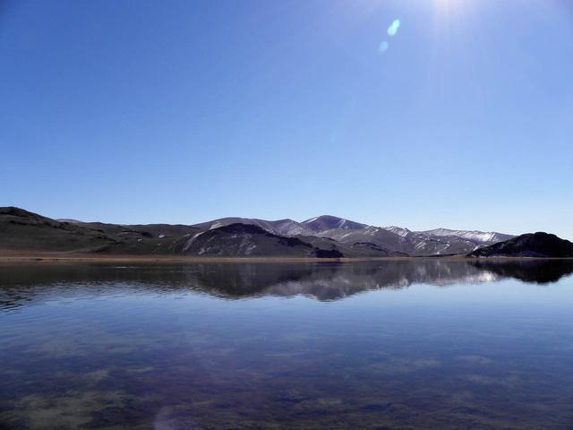 Négyfokos tóban is lehet fürödni, csak nem szabad sokáig
