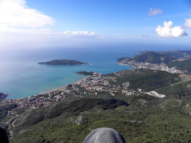 Ha már Görögországban jártam, és ott volt a tenger, paplanernyőztem is egyet