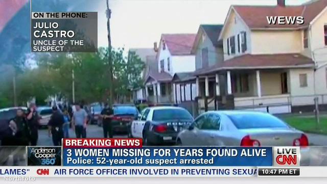 A ház, ahol az eltűnt nőket megtalálták