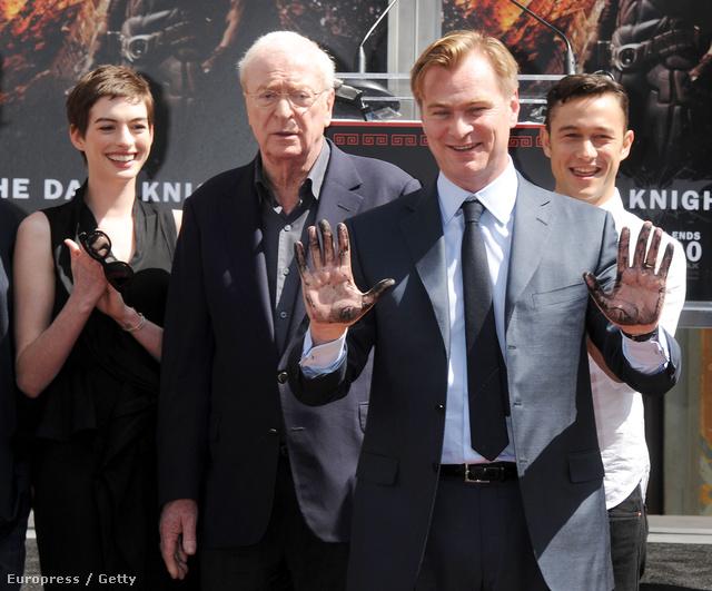 Christopher Nolan állandó sztárjaival
