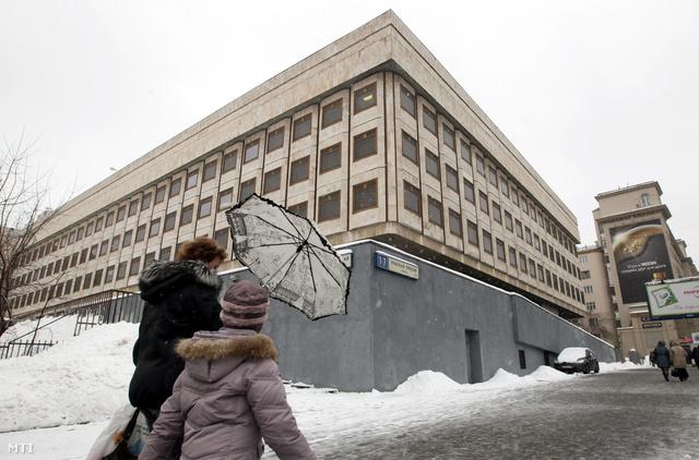 A Moszkvai Kereskedelmi Képviselet épülete