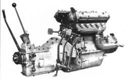 A 6C 1750 Gran Sport két vezérműtengelyes, kompresszoros motorja