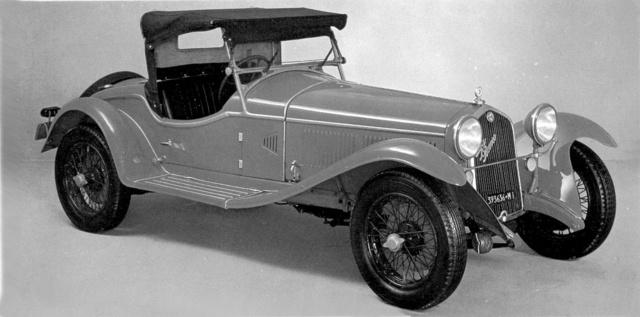 La Sportiva névre keresztelték ezt az 1930-as, negyedik szériás Gran Sport 6C modellt. 84 lóerős motorjával 145 km/h sebességre volt képes