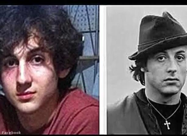 Ikertornyok: Dzsohár Carnajev és Sylvester Stallone.