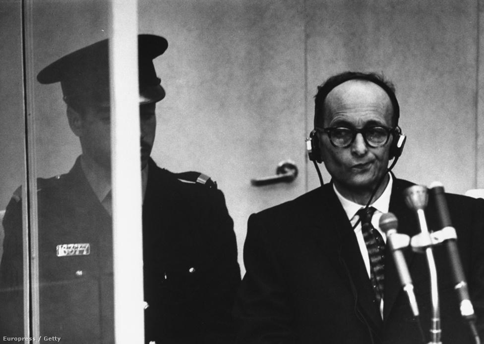 1961. április 11-én Jeruzsálemben bíróság elé állították Adolf Eichmannt, a holokauszt egyik legfőbb kitervelőjét és irányítóját. A vádat Gideon Hausner, Izrael állam főügyésze képviselte. Eichmann beismerte bűnösségét, de megbánást nem tanúsított. 1961. december 15-én kötél általi halálra ítélték, és az ítéletet 1962. május 31-én hajtották végre.