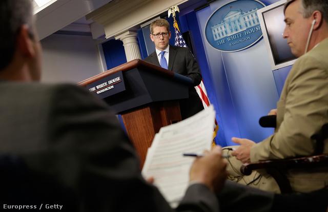 Jay Carrey a Fehér Ház sajtótitkára beszámol az IRS vizsgálatáról
