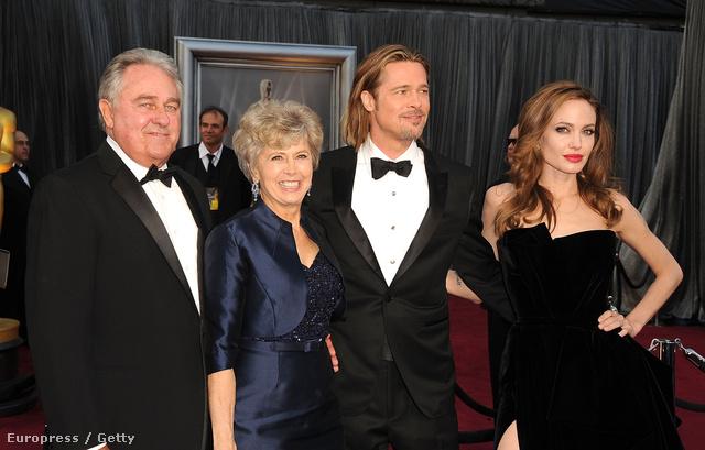 William Pitt, Jane Pitt, Brad Pitt és Angelina Jolie