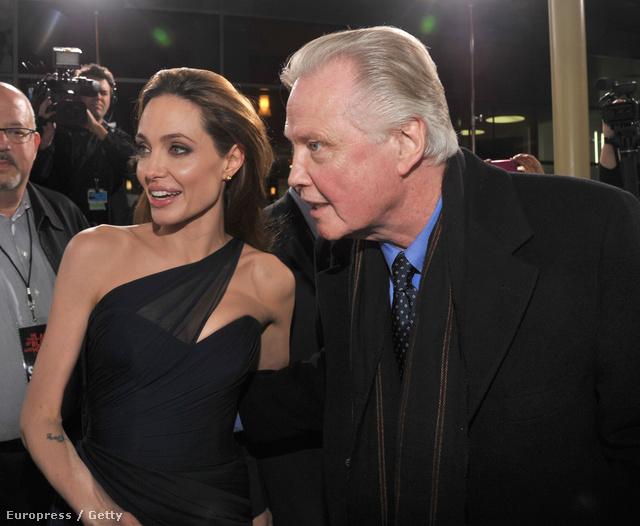 Angelina Jolie és apja, Jon Voight