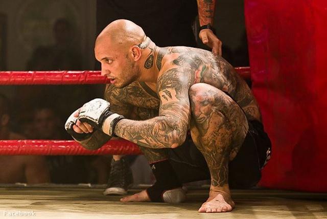 Petrovszki Attila a ringben