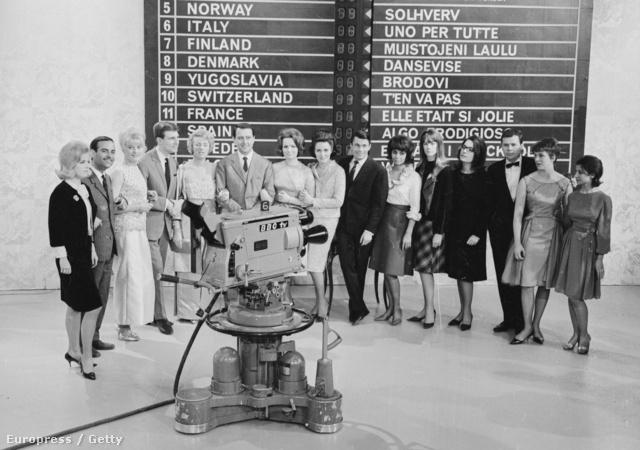 Eurovíziós Dalfesztivál 1963-ban