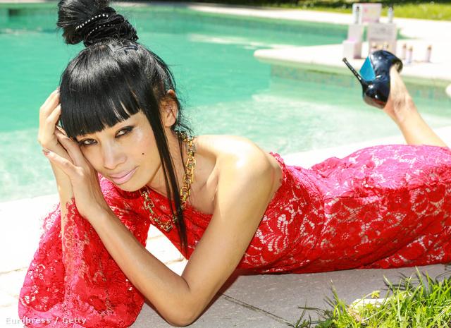 Bai Ling egy promóciós eseményen Cannes-ban