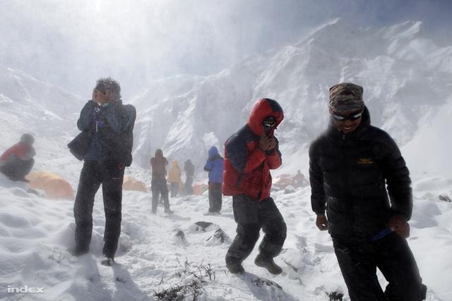 Erőss Zsolt 2012-es expedíciója az Annapurnán 2012-ben