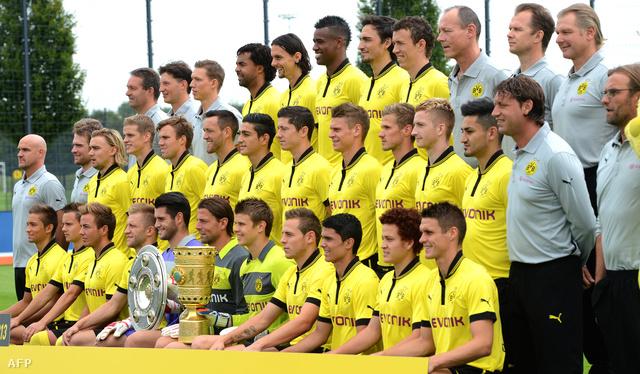 A Dortmund a salátástállal és a német kupával 2012-ben