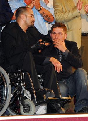 Nagy Viktor forgatókönyvíró és Nagy Zsolt