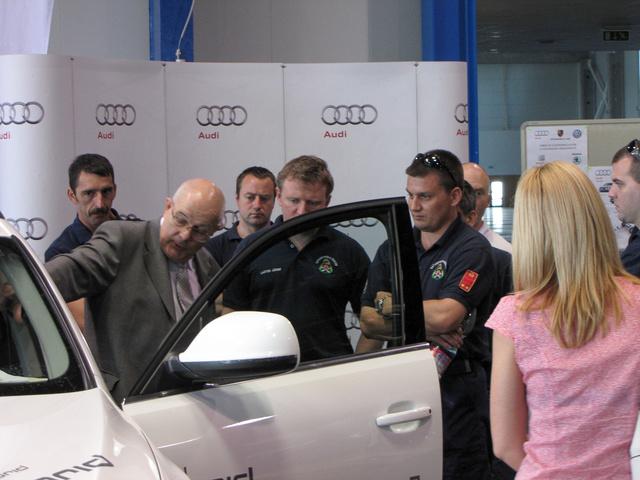 A Porsche Hungária hibrid Audikon mutata be a tudnivalókat