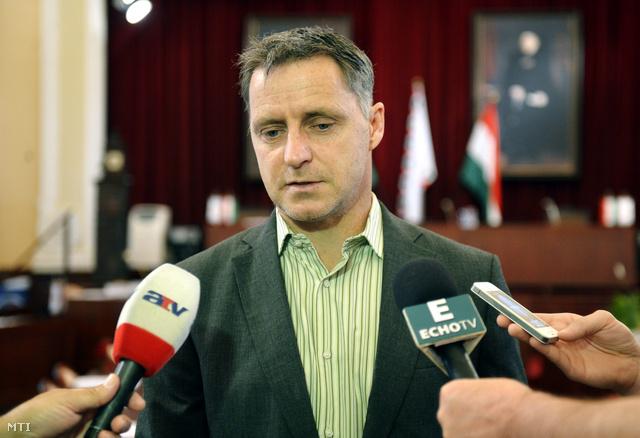 Hanzély Ákos, a Párbeszéd Magyarországért fővárosi képviselője
