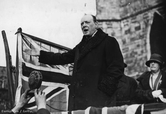 Winston Churchill 1924-ben