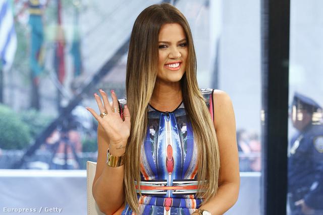 Khloe Kardashian a Today című tévéműsorban