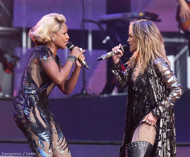 Mary J Blige-dzsal duettben