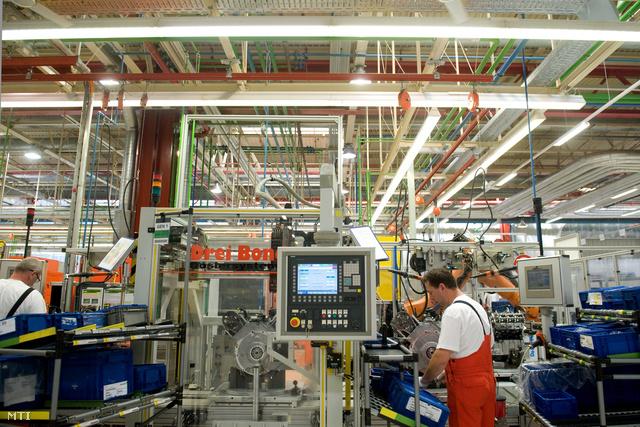 A győri Audi-gyár nyeresége csökkent