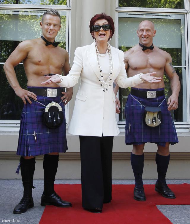 Sharon Osbourne Glasgow-ban tér vissza az X-faktorba