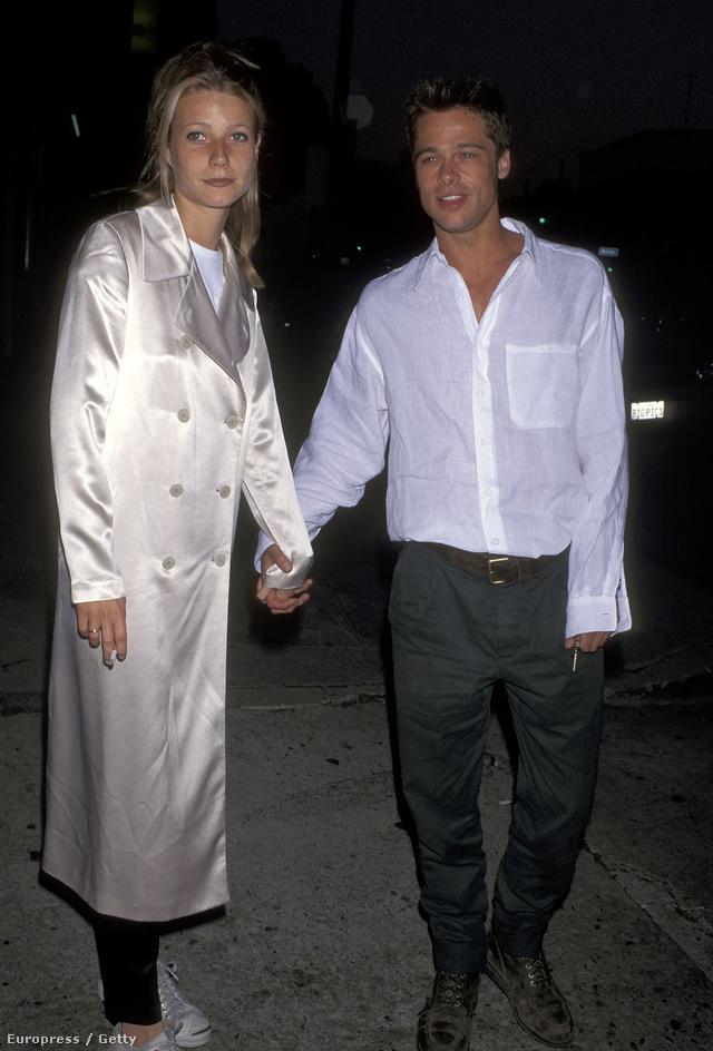 Látszik, hogy Gwyneth Paltrow-nak jó ízlése van, hisz Brad Pitt volt a pasija, és ilyen szép kabátja volt