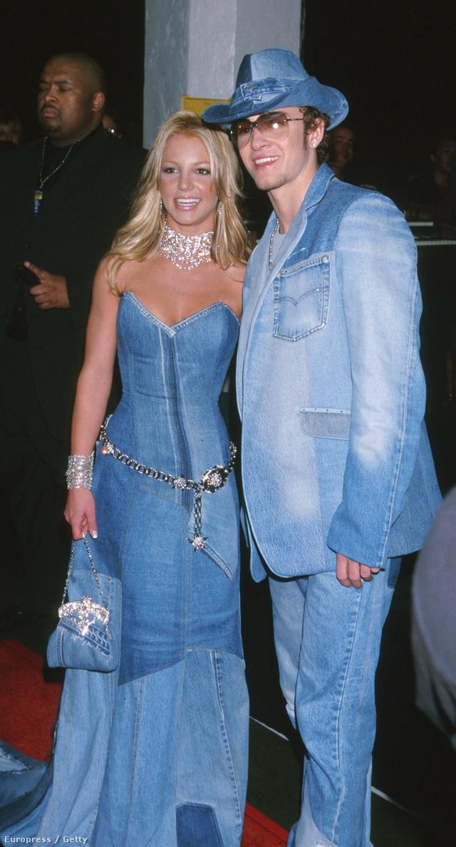 Az évezred divatkatasztrófája: Justin Timberlake és Britney Spears nagyon farmerbe öltözése