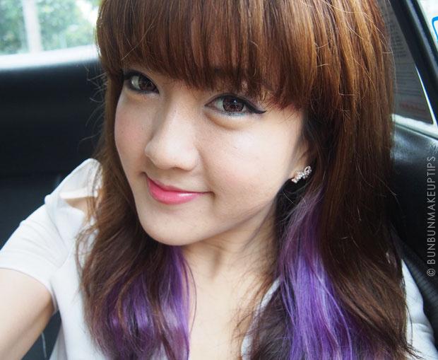 Így nézett ki a szingapúri beauty blogger Juli, három nappal a kezelés előtt