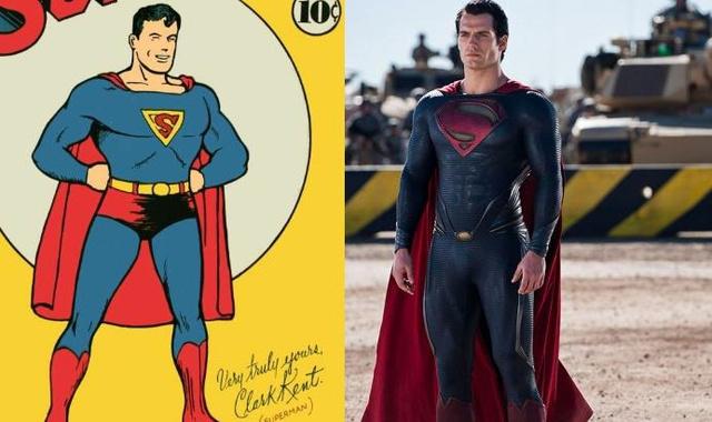 A szuperruha egykor és most