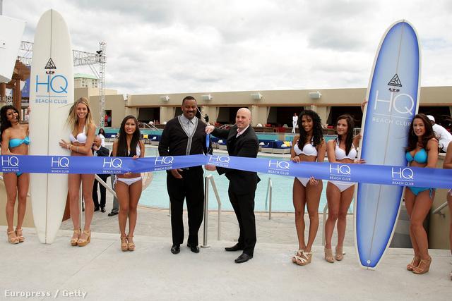 Az HQ Beach Club megnyitója Atlantic Cityben május végén