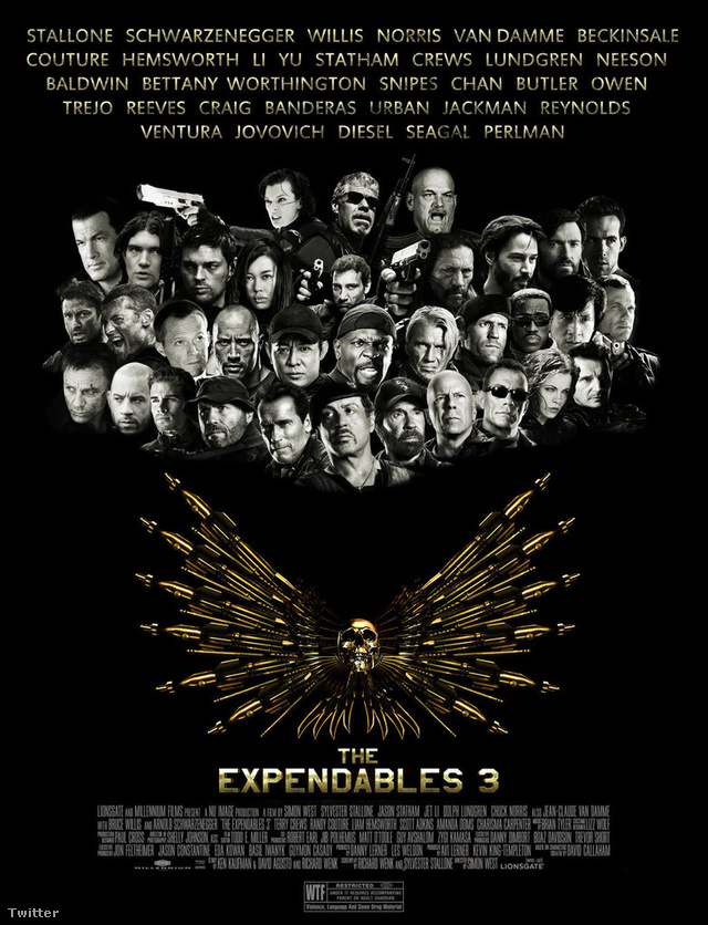 expendables 3 movie poster by droknar-d589gep