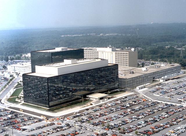 Az NSA (Nemzetbiztonsági Szolgálat) épülete Marylanden
