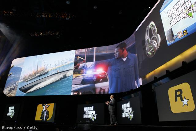 GTA V teaser a Sony bemutatón