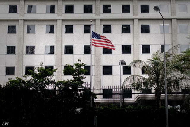 Az USA hongkongi nagykövetsége