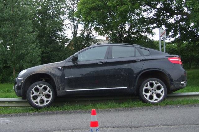 A gazdátlanul hagyott autó Tornyosnémetiben