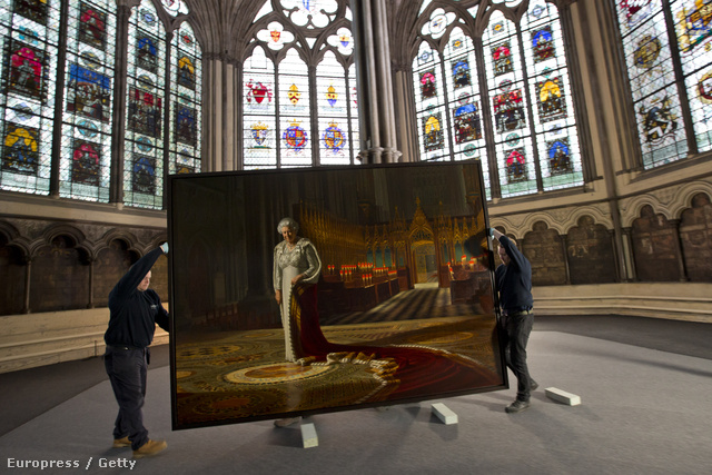 A festmény a támadás előtt