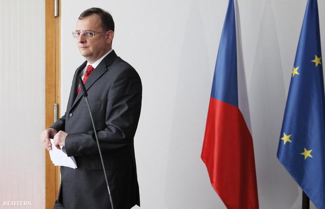 Petr Necas miniszterelnök
