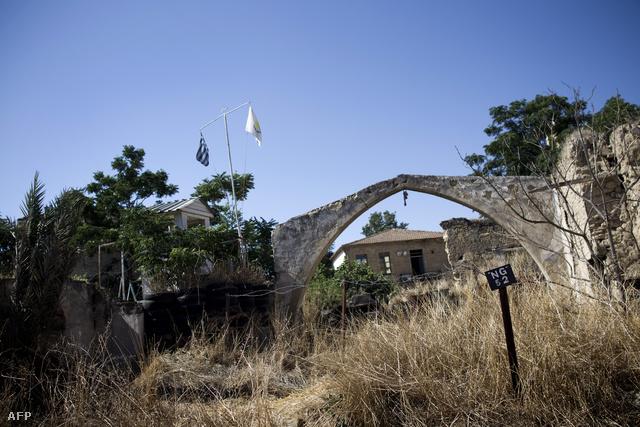 Ciprus, demilitarizált övezet
