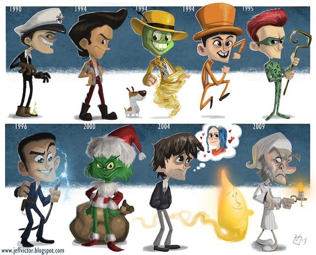 Jim Carrey arcai