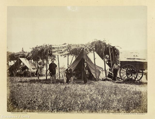 Meade parancsnoki sátra