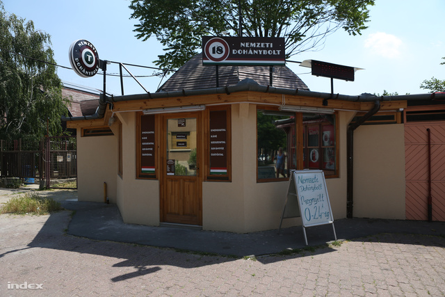 Az első megnyitott dohánybolt Kispesten