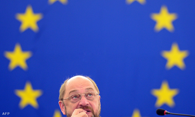 Martin Schulz az EP elnöke, Strasbourgban