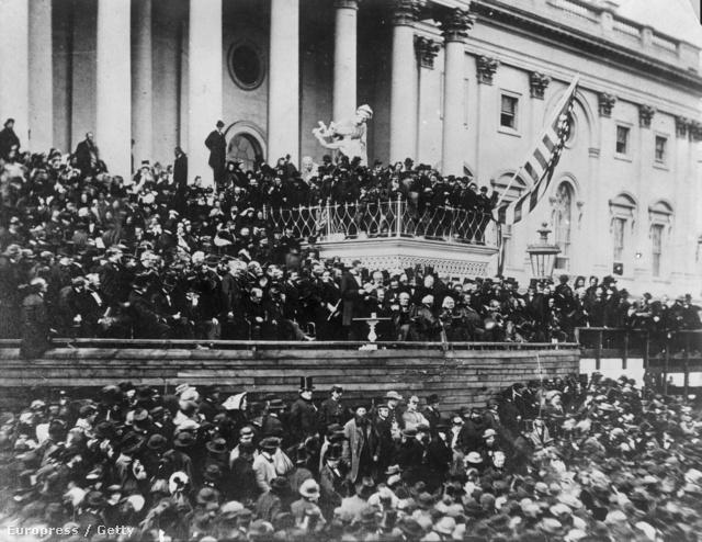 Lincoln elnök beiktatási beszéde 1865-ben